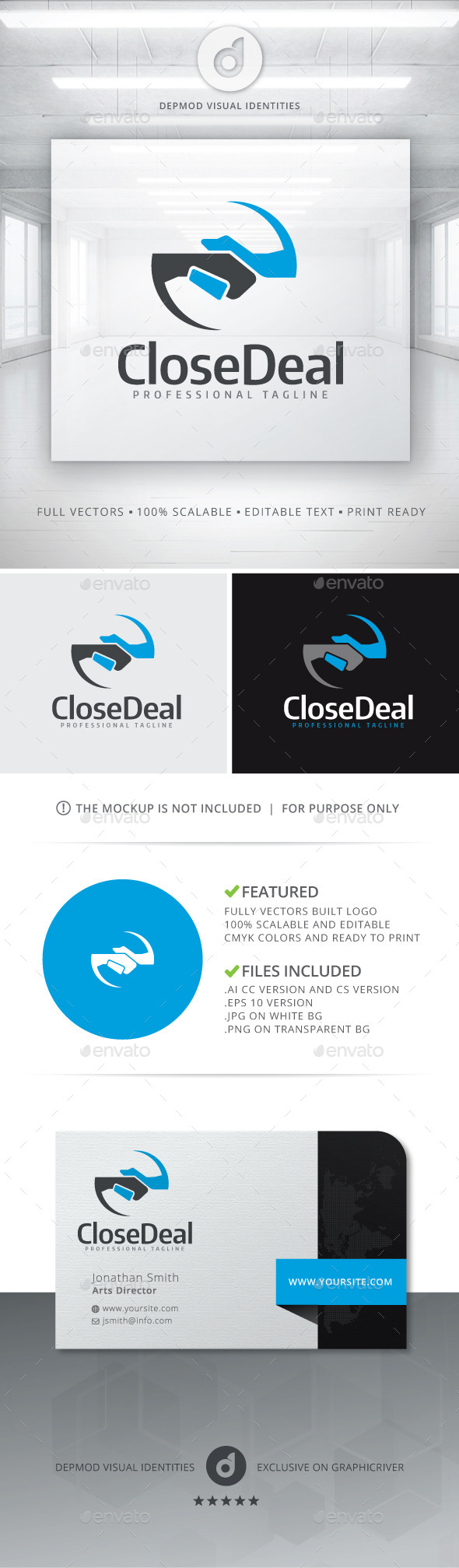 Close Deal Logo