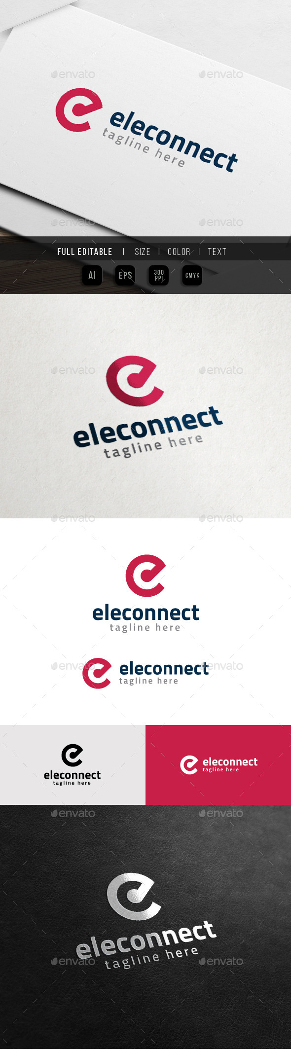 Elegant Brand - Fashion Apparel - E Logo