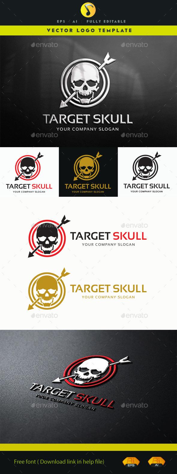 Target Skull Logo