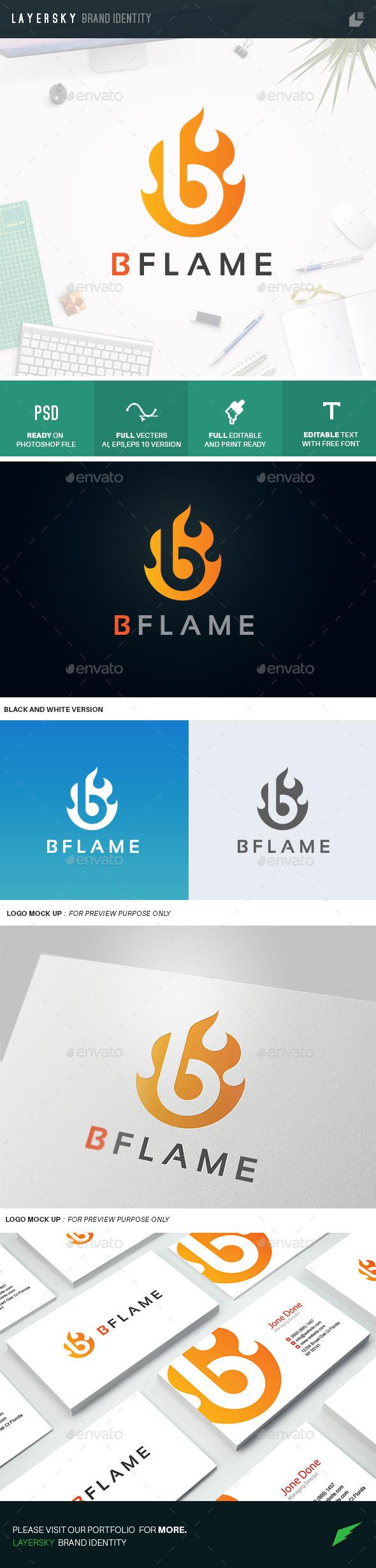 B Flame