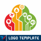 Internet Of Things | Cloud Logo - GraphicRiver Item for Sale