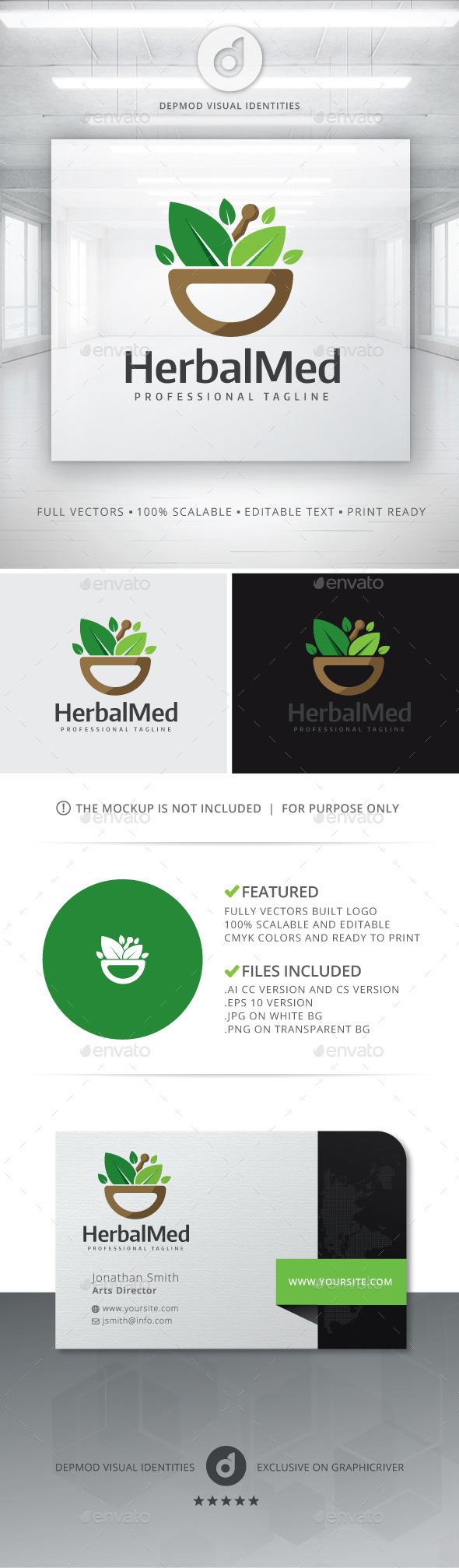 Herbal Med Logo