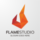 Flame Studio Logo - GraphicRiver Item for Sale