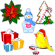 5 Christmas decorations - GraphicRiver Item for Sale