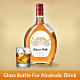 Glass Bottle For Alcoholic Drink Mockup - GraphicRiver Item for Sale
