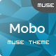 Mobo - One Page Parallax Muse Theme - ThemeForest Item for Sale