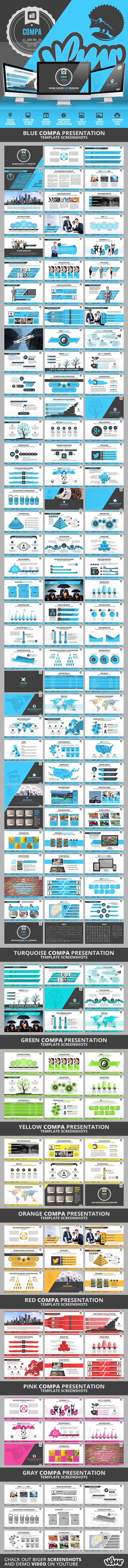 Compa PowerPoint Presentation Template