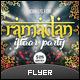 Ramadan Iftaar Party Flyer - GraphicRiver Item for Sale