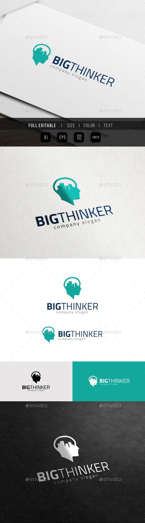 Big City Idea - Vision Thinker Logo