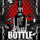 Party Bottle (Flyer Template 4x6)  - GraphicRiver Item for Sale