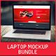 Laptop Screen Mockup Bundle  - GraphicRiver Item for Sale
