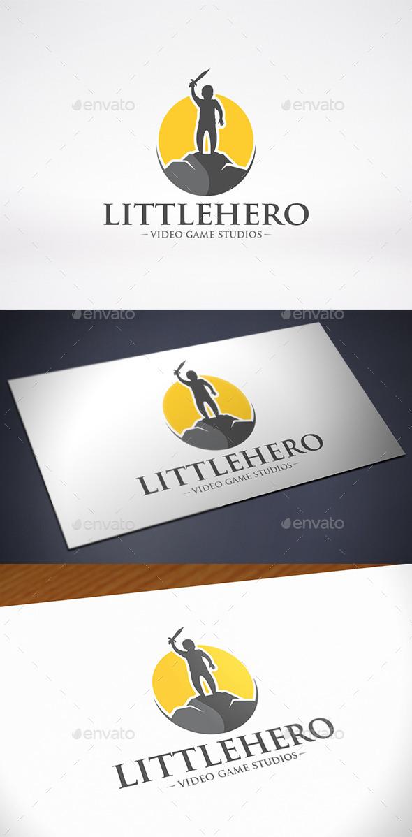 Little Hero Logo Template