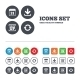 Download And Backup Signs. Calendar, Rotation - GraphicRiver Item for Sale