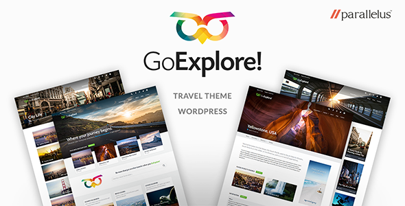 Travel WordPress Theme – GoExplore!