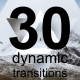 30 Dynamic Transitions - VideoHive Item for Sale