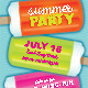 Summer Party or Event Poster, Flyer or Ad - GraphicRiver Item for Sale