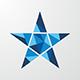 Blue Star Logo - GraphicRiver Item for Sale
