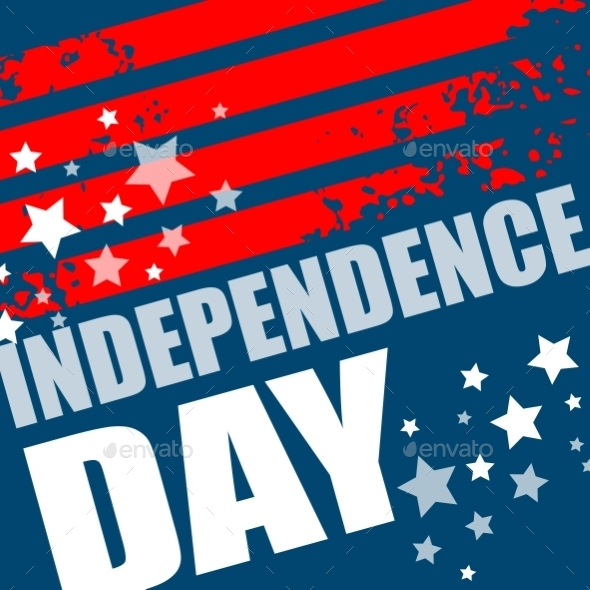 Independence Day Background. Abstract  Grunge