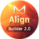 AlignMail - Responsive Email + TemplateBuilder - ThemeForest Item for Sale