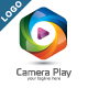 Camera Play Logo - GraphicRiver Item for Sale