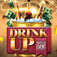 Drink Up Flyer - GraphicRiver Item for Sale