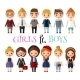 Modern Young People - GraphicRiver Item for Sale