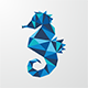 Abstract Seahorse Logo - GraphicRiver Item for Sale