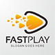 Fast Play Logo - GraphicRiver Item for Sale