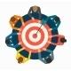 Achieving Goal Concept.  - GraphicRiver Item for Sale