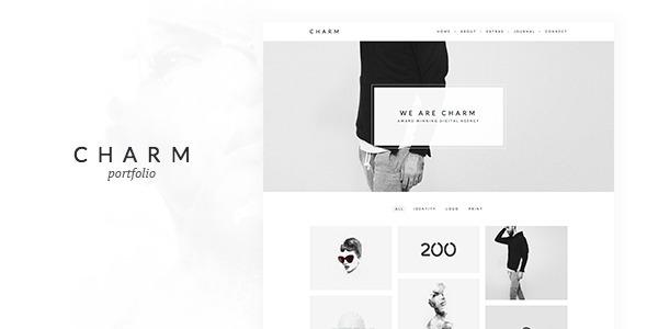 Charm - Portfolio for Freelancers & Agencies