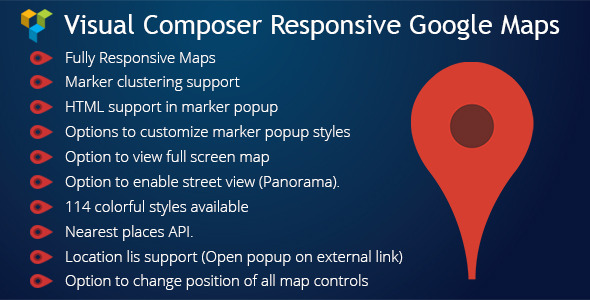 WPBakery Page Builder (Visual Composer) Responsive Google Maps Download