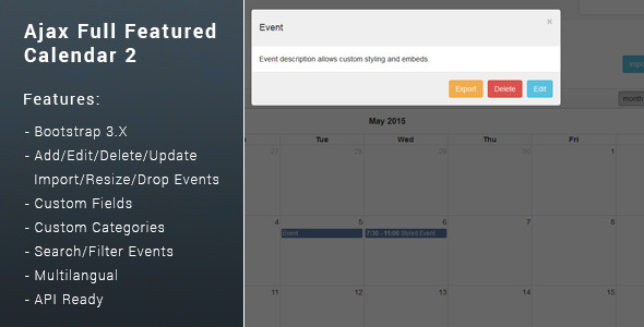 Ajax Full Featured Calendar 2 Free Download #1 free download Ajax Full Featured Calendar 2 Free Download #1 nulled Ajax Full Featured Calendar 2 Free Download #1