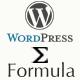 Wordpress Formula Editor Plugin - CodeCanyon Item for Sale