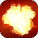 Molten Fire - Square Logo - VideoHive Item for Sale