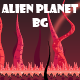 4 Alien planet game background - GraphicRiver Item for Sale