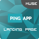 PingApp - One Page Parallax Muse Theme - ThemeForest Item for Sale