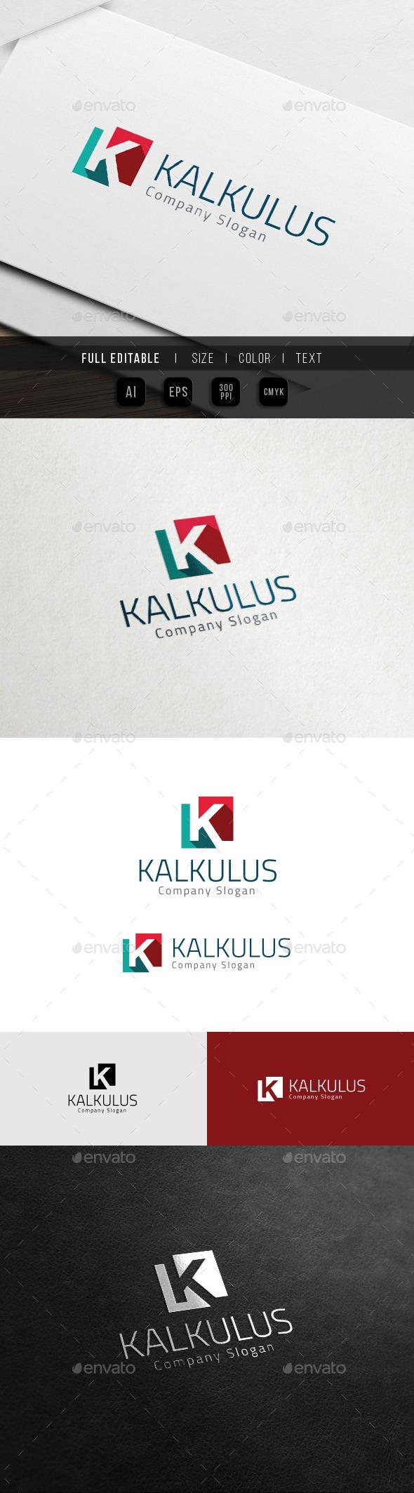 Corporate Brand - Marketing Finance - K Logo