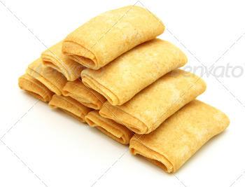fried pancakes stuffed is