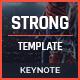 Strong Keynote - Multipurpose Presentation - GraphicRiver Item for Sale