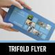 Metro Horizontal Tri-fold - GraphicRiver Item for Sale