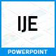 IJE - Premium Presentation Template - GraphicRiver Item for Sale