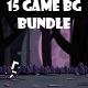 15 game background bundle - GraphicRiver Item for Sale