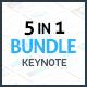 5-in-1 Keynote Presentation Bundle - GraphicRiver Item for Sale