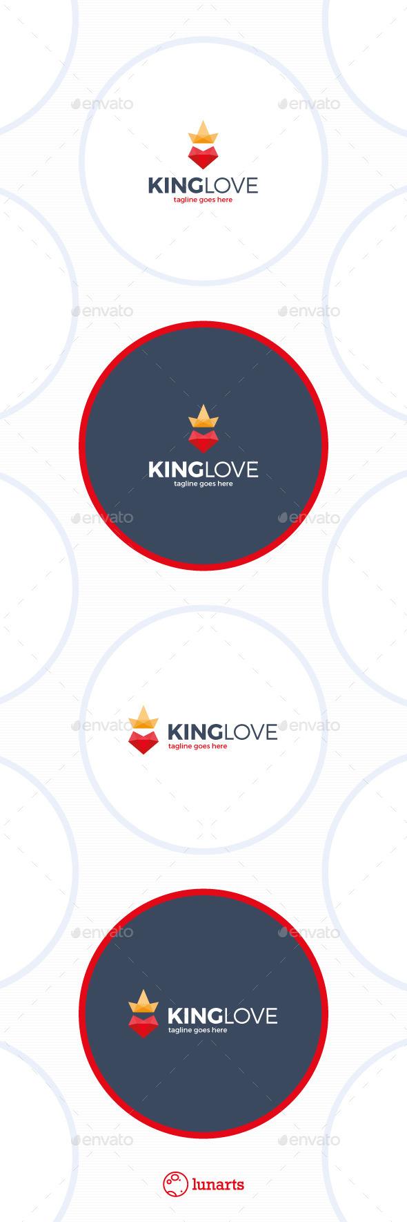 King Love Logo
