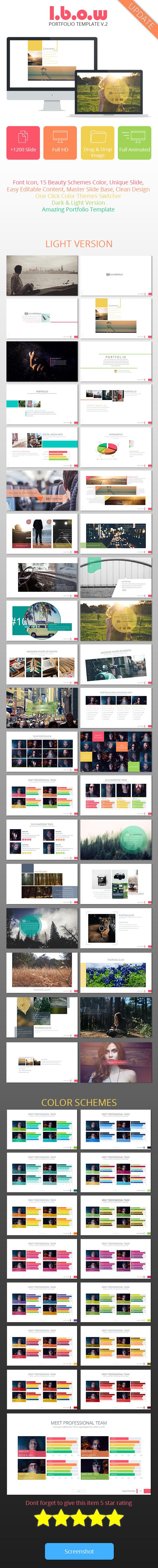 Ibow Portfolio | Multipurpose Presentation