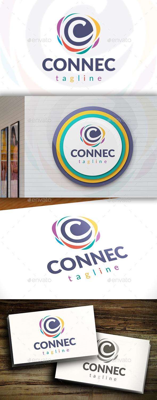 Connect C Letter Logo
