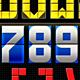 Scoreboard Monospaced CAPS Display Type - GraphicRiver Item for Sale