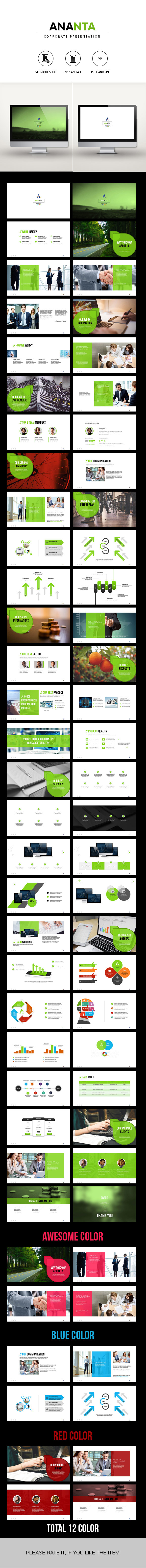 ANANTA | Corporate Powerpoint Template
