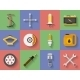 Icon Set of Car Repair Parts - GraphicRiver Item for Sale