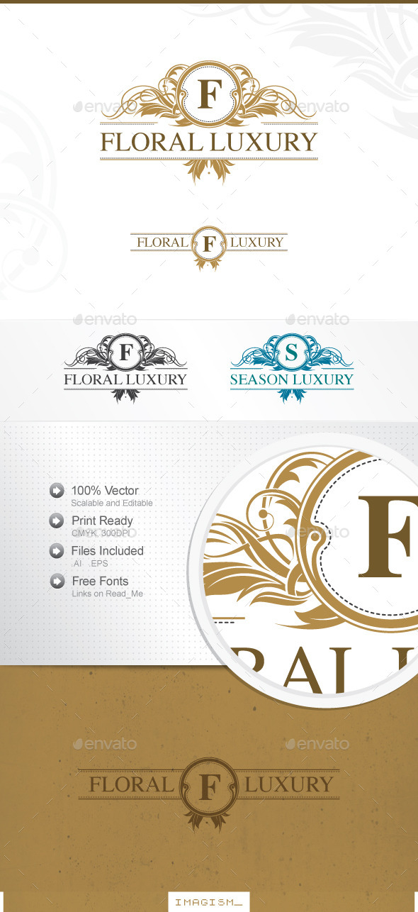 Floral Luxury Logo